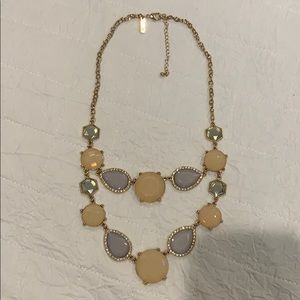 INC Pastel colored Necklace w/ Gold Chain